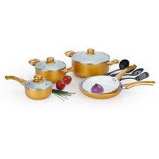 12 Piece Amunimum Ceramic Coated Cookware Set