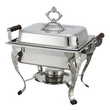 Crown 4-Quart Half-Size Chafer