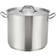 12-Quart Stock Pot with Lid