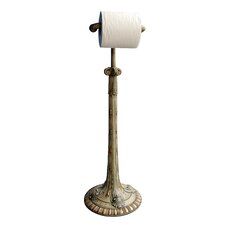 Acanthus Free Standing Toilet Paper Holder