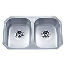 """Speciality Series 29.13"""" x 18.13"""" Equal Double Kitchen Sink"""