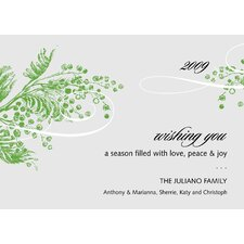 Personalized Bayberry Holiday Card (Set of 100)