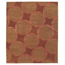 Designers' Reserve Brown/Red Area Rug