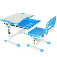 Vivo Height Adjustable Children's Desk with Chair