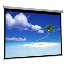 """Matte White 100"""" diagonal Manual Projection Screen"""