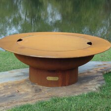 Saturn with Lid Fire Pit Table