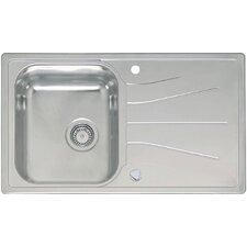 86cm x 50cm Single Bowl Kitchen Sink