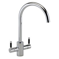 Double Handle Surface Mounted Monobloc Mixer Tap