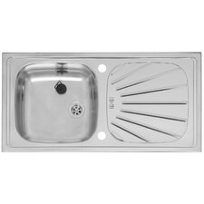 86cm x 43.5cm Single Bowl Kitchen Sink