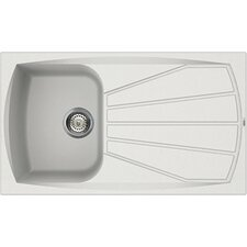 Living 86cm x 50cm Kitchen Sink
