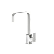 Single Handle Surface Mounted Monobloc Mixer Tap with Swivel U-Spout