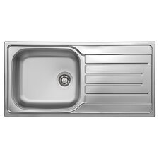Daytona 100cm x 50cm Boxed Kitchen Sink
