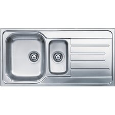 Lemans 96cm x 50cm Boxed Kitchen Sink