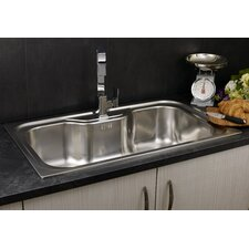 86cm x 51cm Single Bowl Kitchen Sink