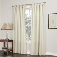 Kelvin Tab Top Single Curtain Panel