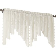 "Alison Lace 58"" Curtain Valance"