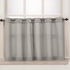 Montego Grommet Tier Curtain (Set of 2)