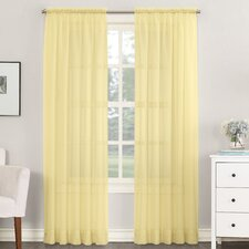 Sheer Voile Single Curtain Panel