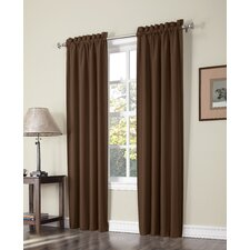 Plainfield Thermal Lined Rod Pocket Curtain Panel Pair (Set of 2)