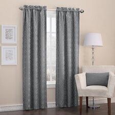 Dennisport Thermal Lined Rod Pocket Single Curtain Panel