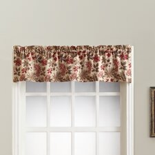 Woodland Leaf Print Rod Pocket Single Curtain Valance