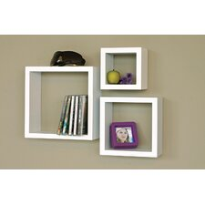 Cubbi 3 Piece Wall Shelf Set