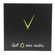 "Snooze 14"" Wall Clock"