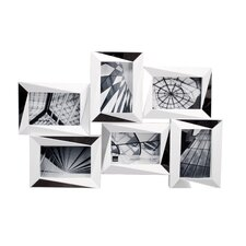 Mira 6 Piece Mirrored Wall Collage Photo Frame Set