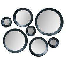 Carla 7 Piece Round Mirror Set