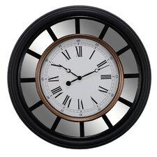 "Vintage 22"" Mirrored Wall Clock"
