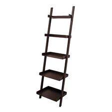 """Hadfield 67"""" Leaning Bookcase"""