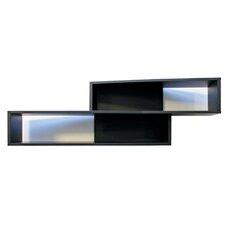 """Luca 38"""" Angled Wall Shelf"""
