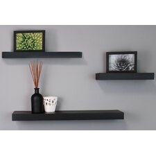 3 Piece Maine Wall Shelf Set