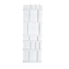 """Aksel Tall Wall Shelf 60"""" Cube Unit"""