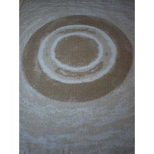 Watercolor Circles Throw Blanket