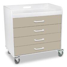 Extra Wide Storage Cart