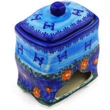 Polish Pottery Stoneware Jar