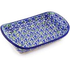 "Polish Pottery 7"" Rectangle Platter"