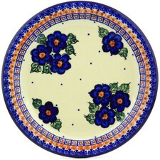 "Polish Pottery 11"" Stoneware Plate"
