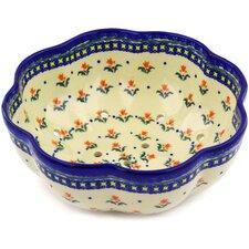 "Polish Pottery 9"" Stoneware Colander"