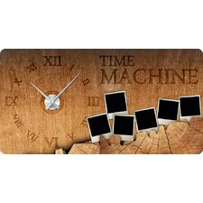 Analoge Wanduhr Time, Machine
