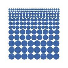 Wandtattoo-Set Punkte, Kreis, Polka, Dots