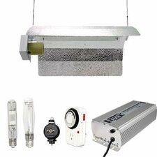 400 Watt HPS MH Grow Light Winged Reflector Hood Digital Kit