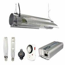 1000 Watt HPS MH Grow Light Tube Reflector Hood Digital Kit