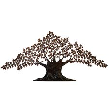 "84"" Urban Handcrafted Tree of Life Large Metal Art Wall Decor"