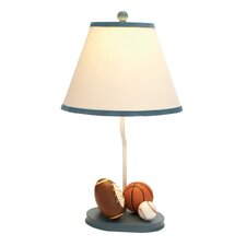 "Urban All American Sports Kids 22"" H Table Lamp with Empire Shade"