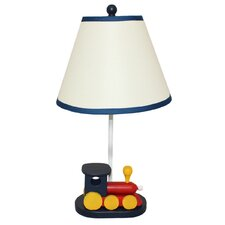 "Urban Choo Choo Train Kids 21"" H Table Lamp with Empire Shade"