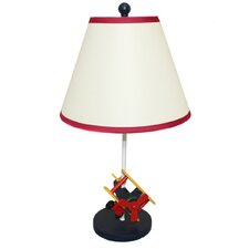 """Urban Airplane Kids 21"""" H Table Lamp with Empire Shade"""