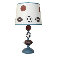 "Urban All American Sports Kids 23"" H Table Lamp Empire Shade"