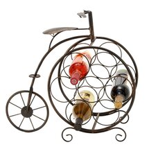 Casa Cortes 7 Bottle Tabletop Wine Rack